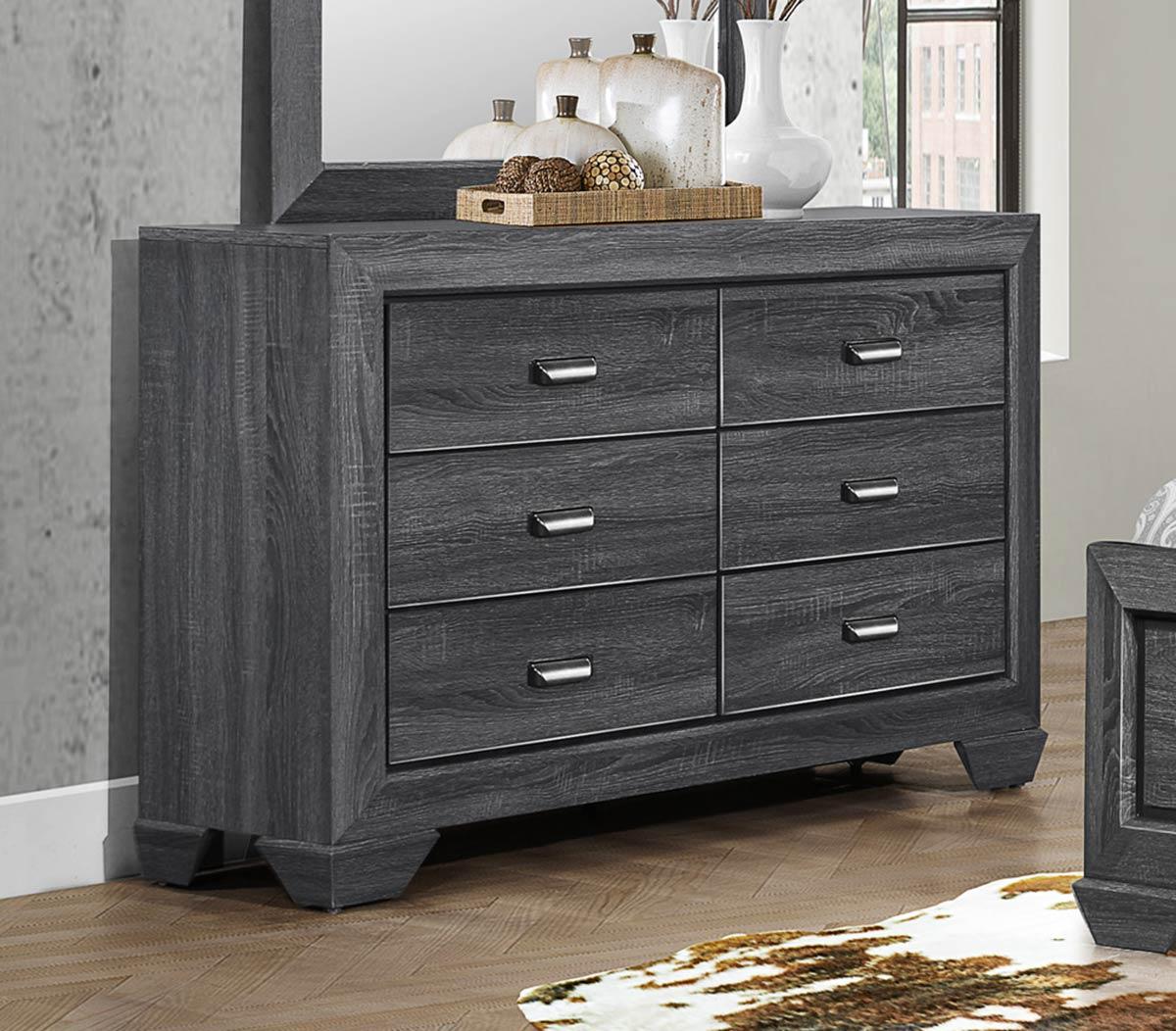 Homelegance Beechnut Dresser - Gray