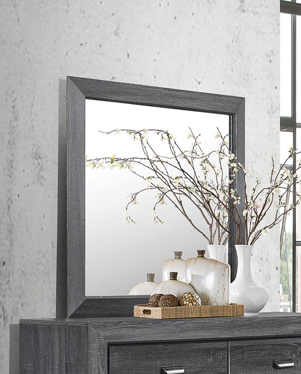 Homelegance Beechnut Mirror - Gray