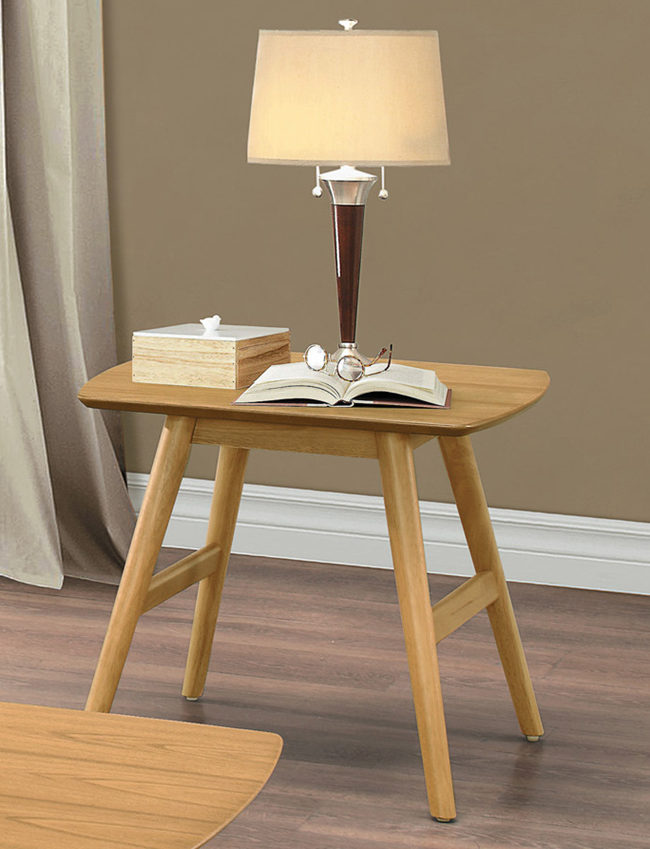 Homelegance Anika End Table - Light Ash