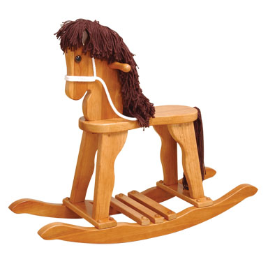 KidKraft Derby Rocking Horse - Honey