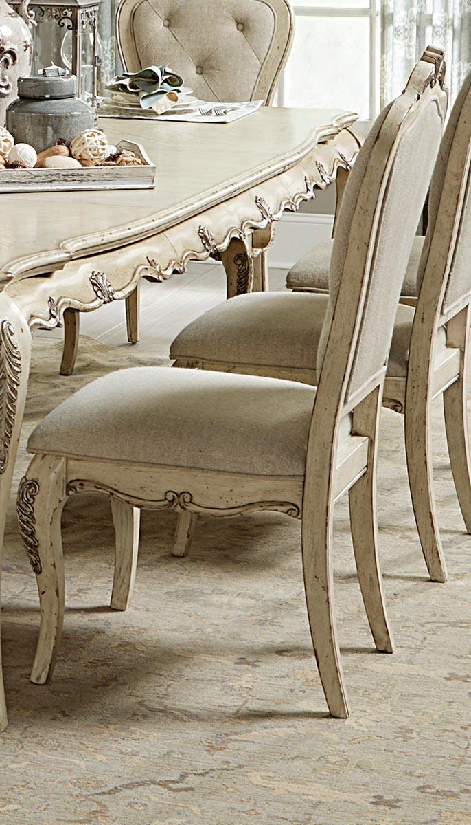 Homelegance Elsmere Side Chair - Antique Grey