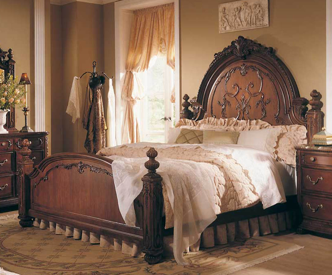 Superieur American Drew Jessica McClintock Home Romance Victorian Mansion Bed