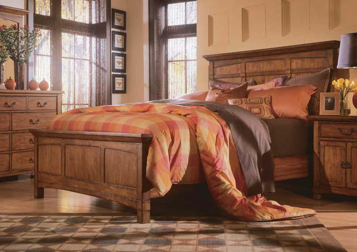American Drew Beacon Ridge Panel Bed