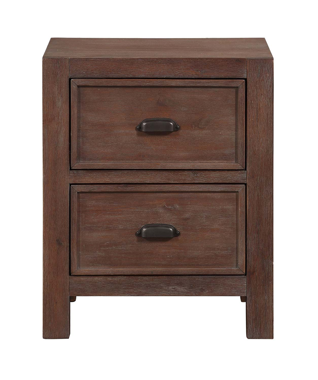 Homelegance Wrangell Night Stand - Medium Cherry