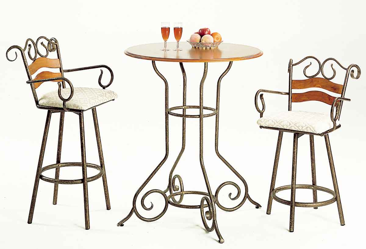Homelegance Pine and iron Pub Dining Collection