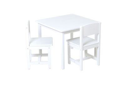 Cheap KidKraft Aspen Table & 2 Chairs – White