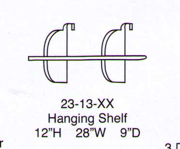 Utica Hanging Shelf-Berg