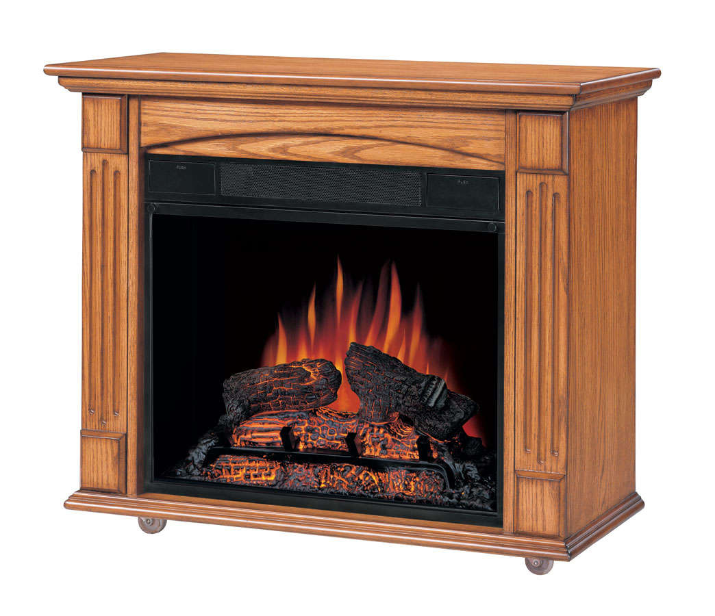 Big Lots Petite Foyer Fireplace : Foyer electric fireplace view