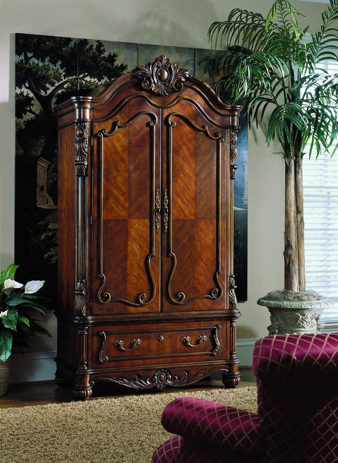 Pulaski Edwardian Armoire Pf 242120 1 At