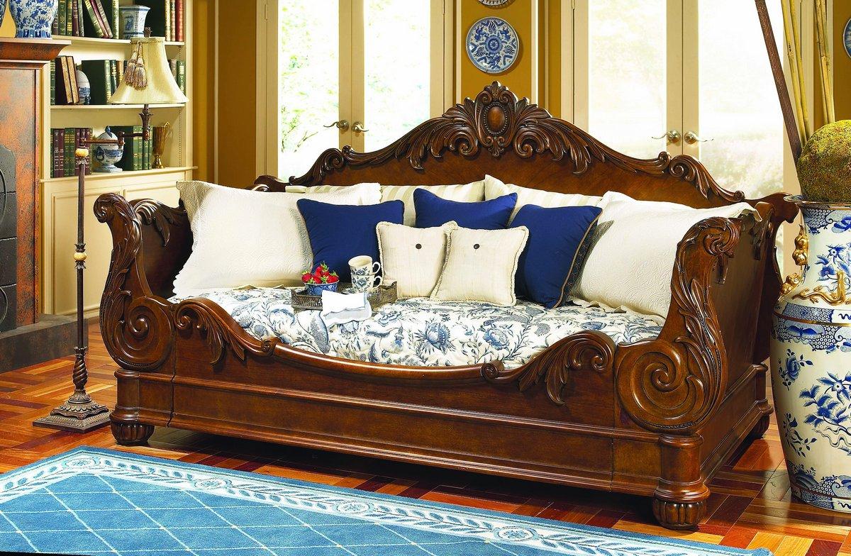 Pulaski Edwardian Day Bed Pf 242190 1 At