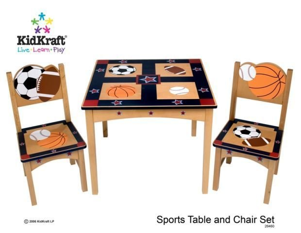KidKraft Sports Table and Chair Set