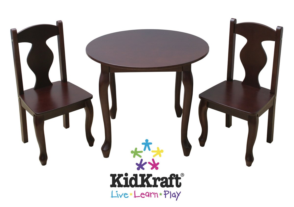 KidKraft Queen Anne Table and 2 Chair Set
