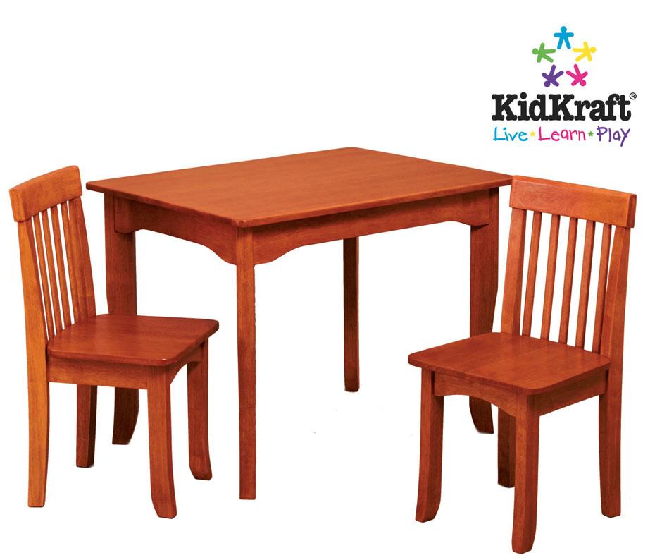 KidKraft Oslo Table & Chair Set - Caramel