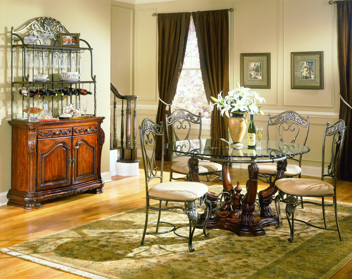Homelegance Hibiscus Dining Collection