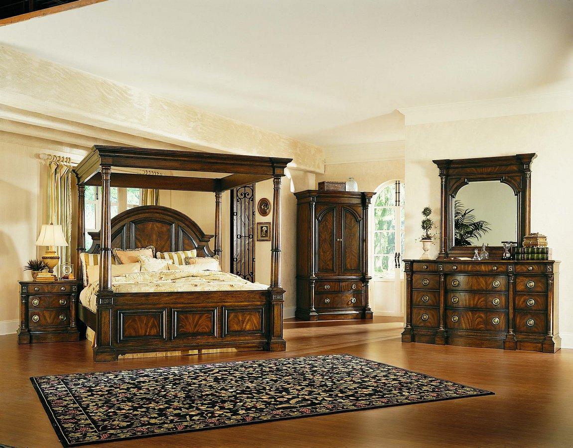 Pulaski Sloane Street Canopy Bedroom Collection Pf B284154 At Homelement Com