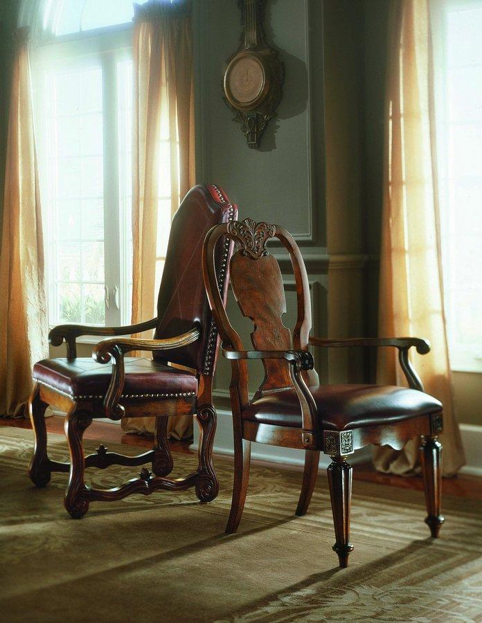 Pulaski Sloane Street Side Chair Wood Back