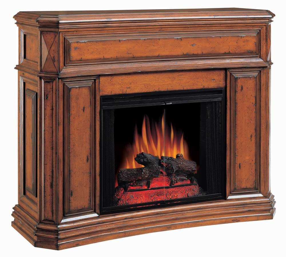 Montebella Mahogany Electric Fireplace 28 inch Classic