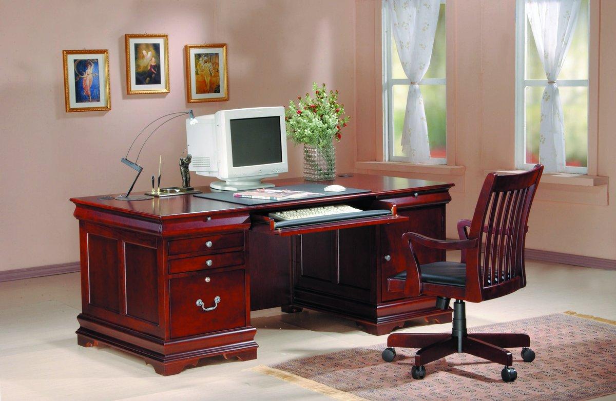 Homelegance Lincoln Executive Desk