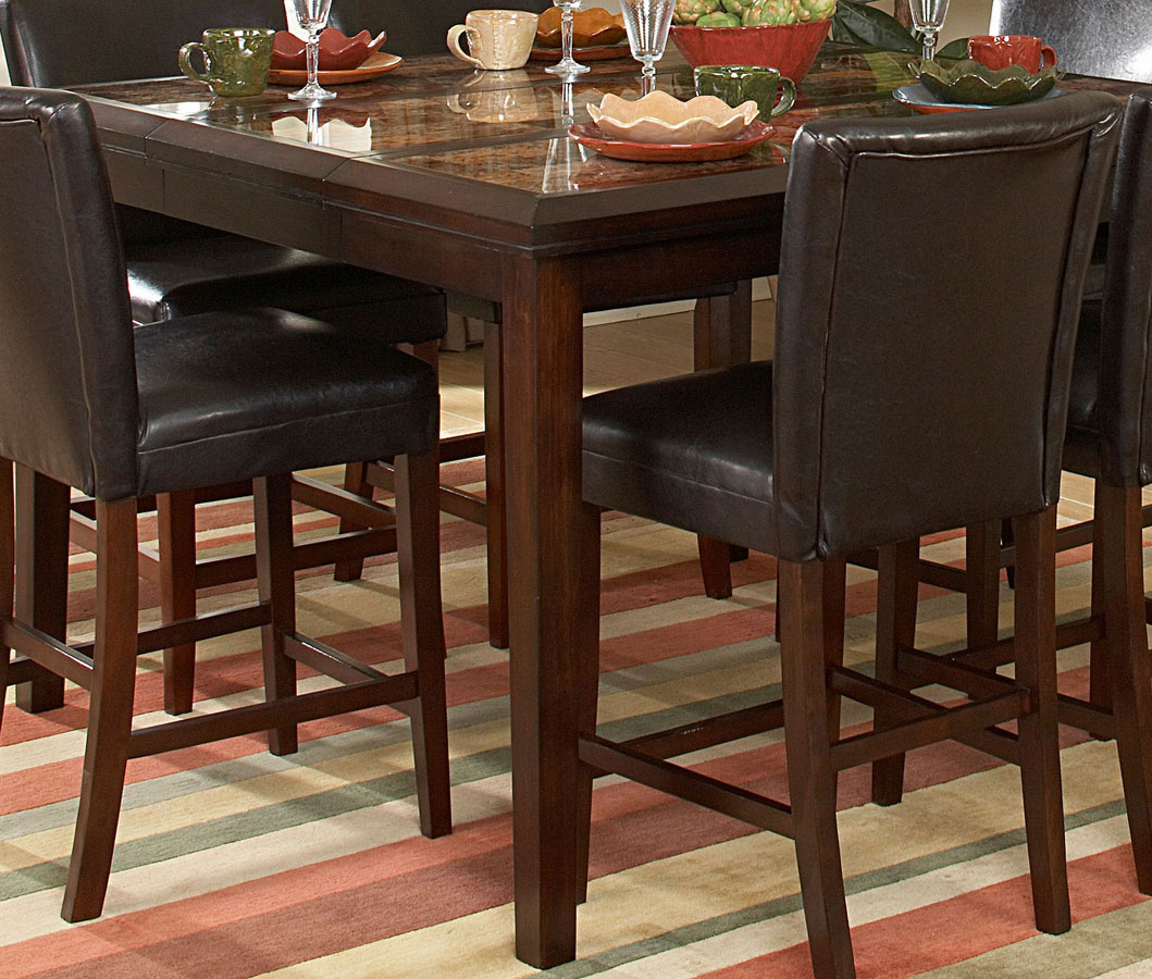 Belvedere Furniture #34 - Homelegance Belvedere Counter Height Dining Table