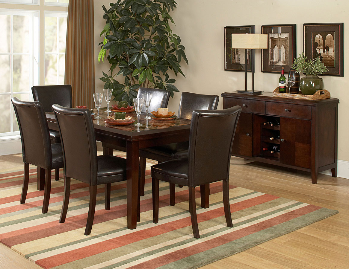 Homelegance Belvedere 60In Dining Collection