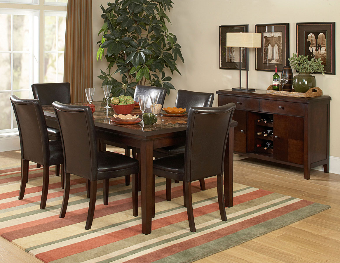 Homelegance Belvedere 78In Dining Collection