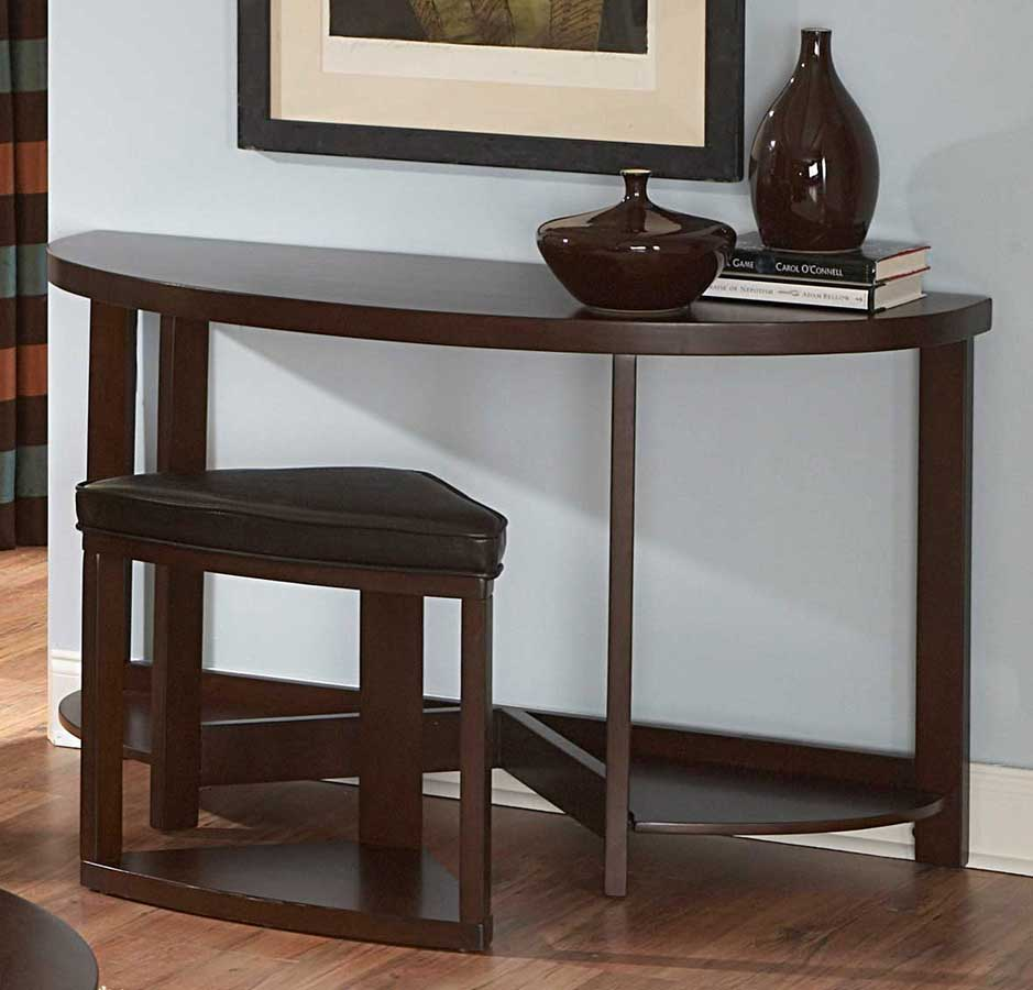 homelegance brussel ii console table with stool 3292 05 at. Black Bedroom Furniture Sets. Home Design Ideas