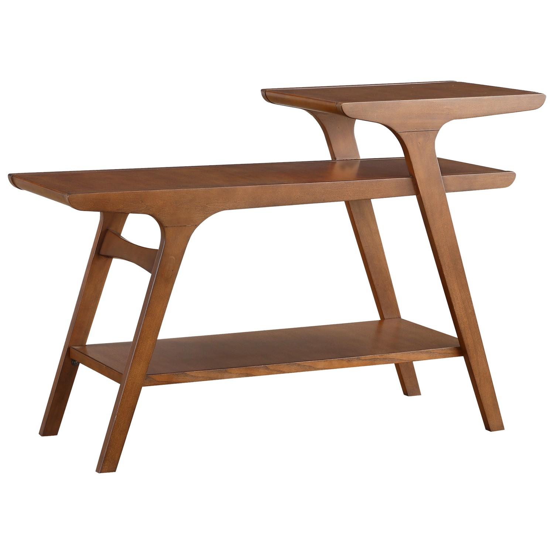 Homelegance Saluki Sofa Table - Cherry