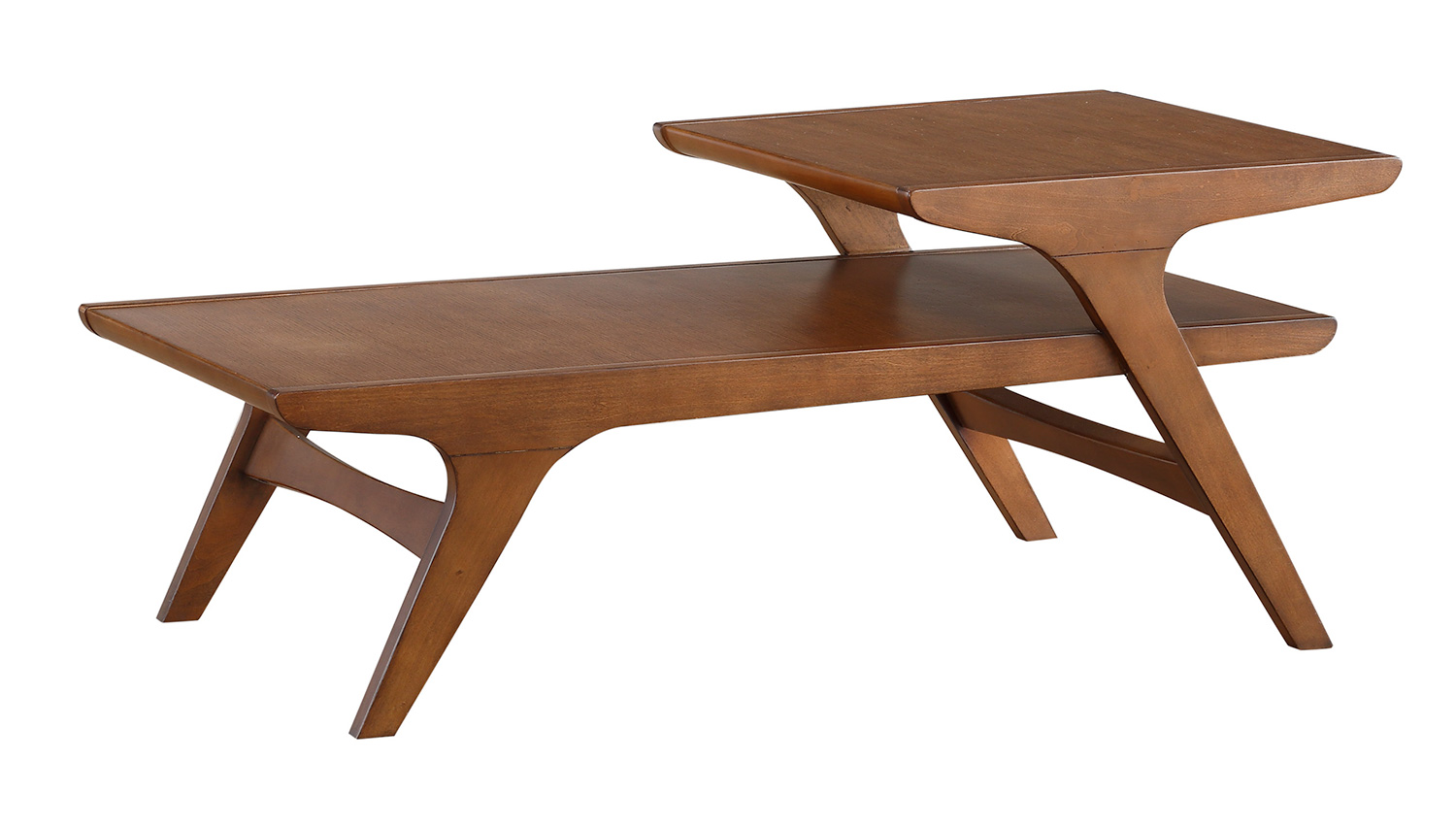 Homelegance Saluki Cocktail/Coffee Table - Cherry