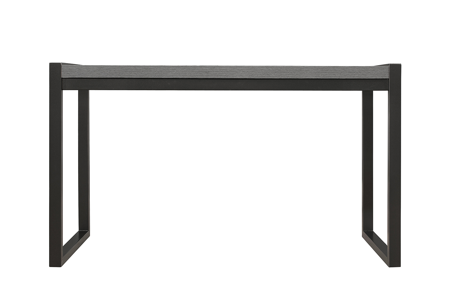 Homelegance Dogue Writing Desk - Gunmetal - Gray