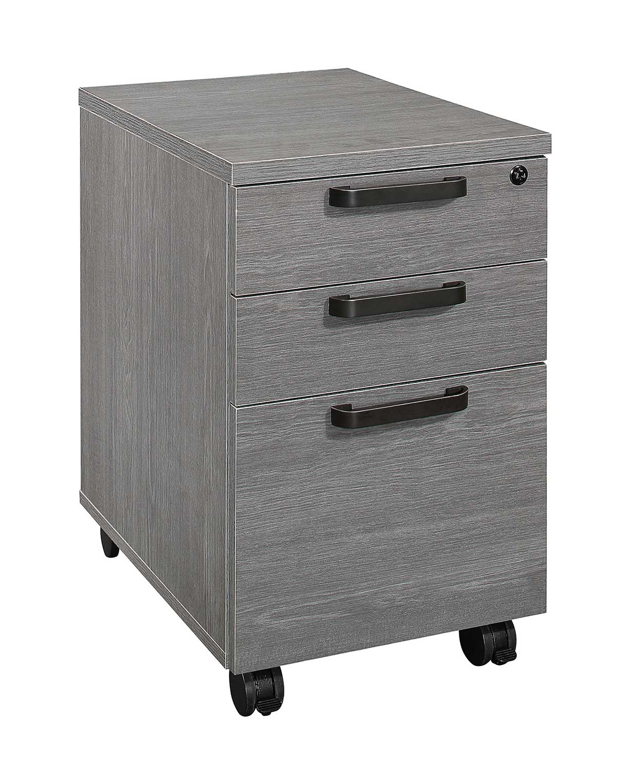 Homelegance Dogue File Cabinet - Gunmetal - Gray