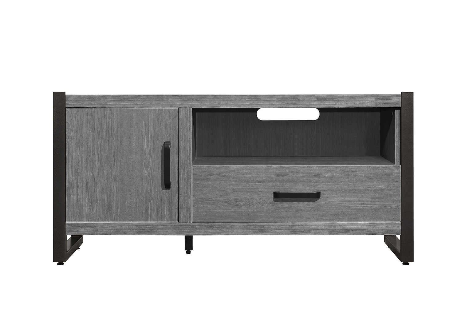 Homelegance Dogue 51-inch TV Stand - Gunmetal - Gray