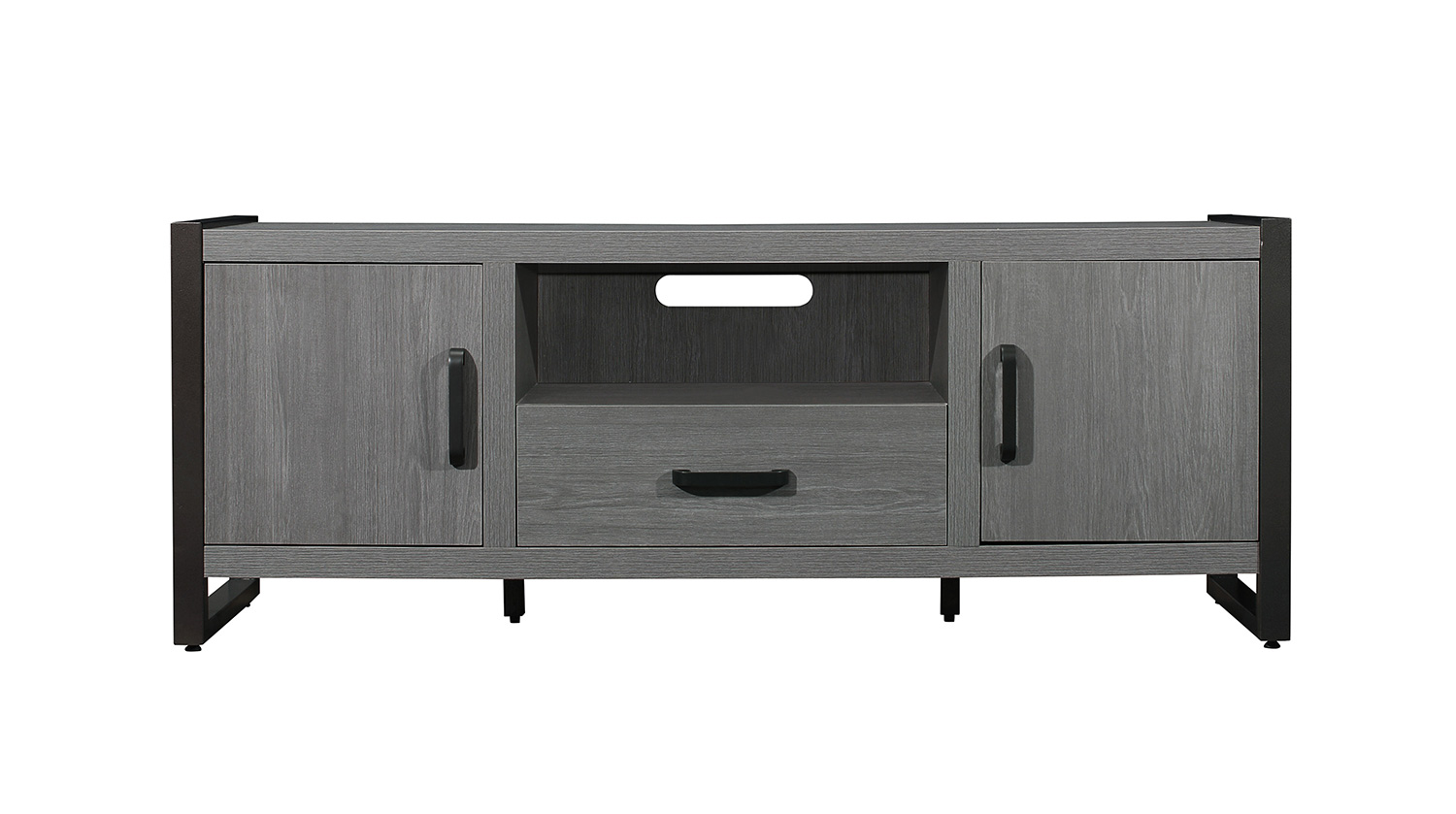 Homelegance Dogue 63-inch TV Stand - Gunmetal - Gray