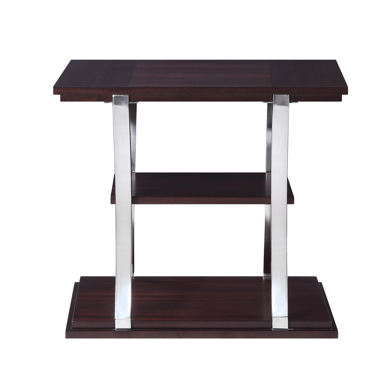 Homelegance Bevan End Table - Dark Cherry
