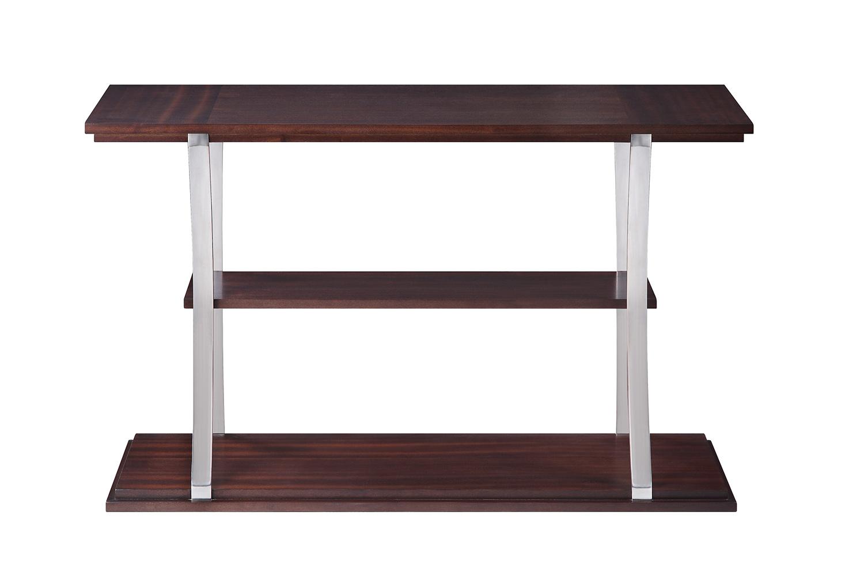 Homelegance Bevan Sofa Table - Dark Cherry