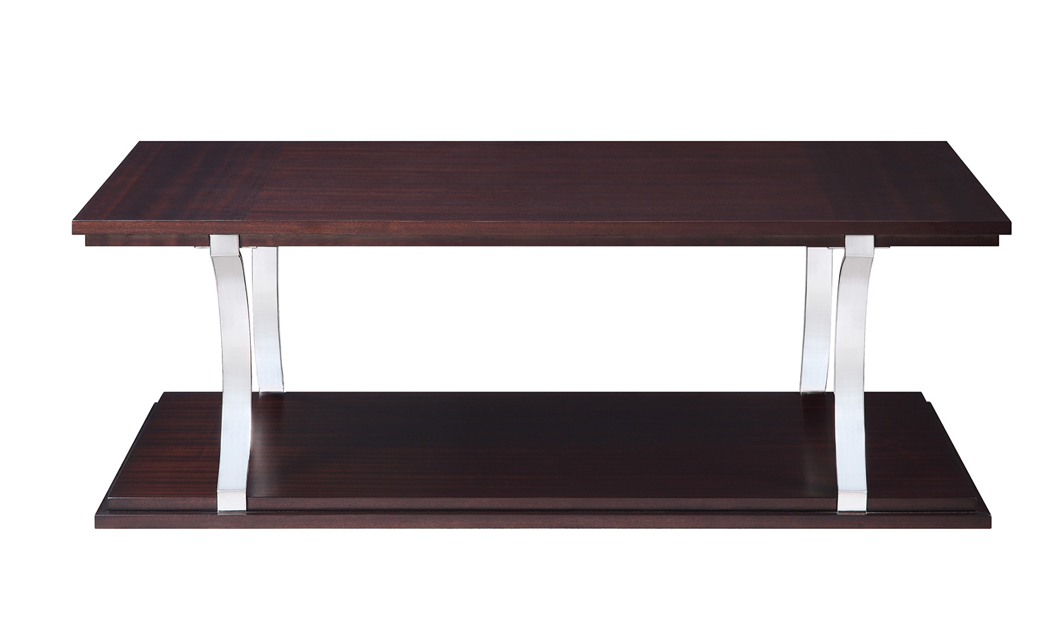 Homelegance Bevan Cocktail Table - Dark Cherry