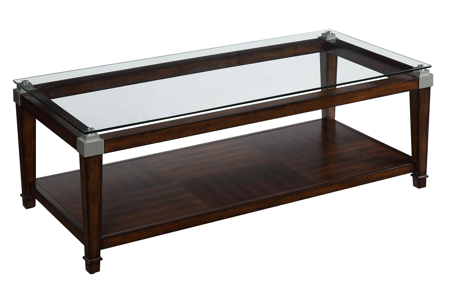 Homelegance Paseo 3-Piece Cocktail/Coffee Tables - Cherry
