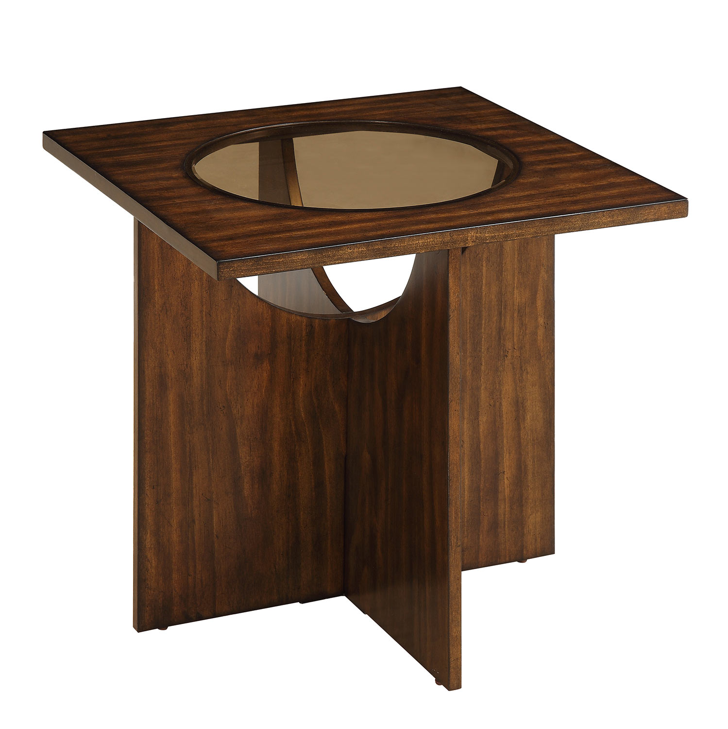 Homelegance Akita End Table - Cherry