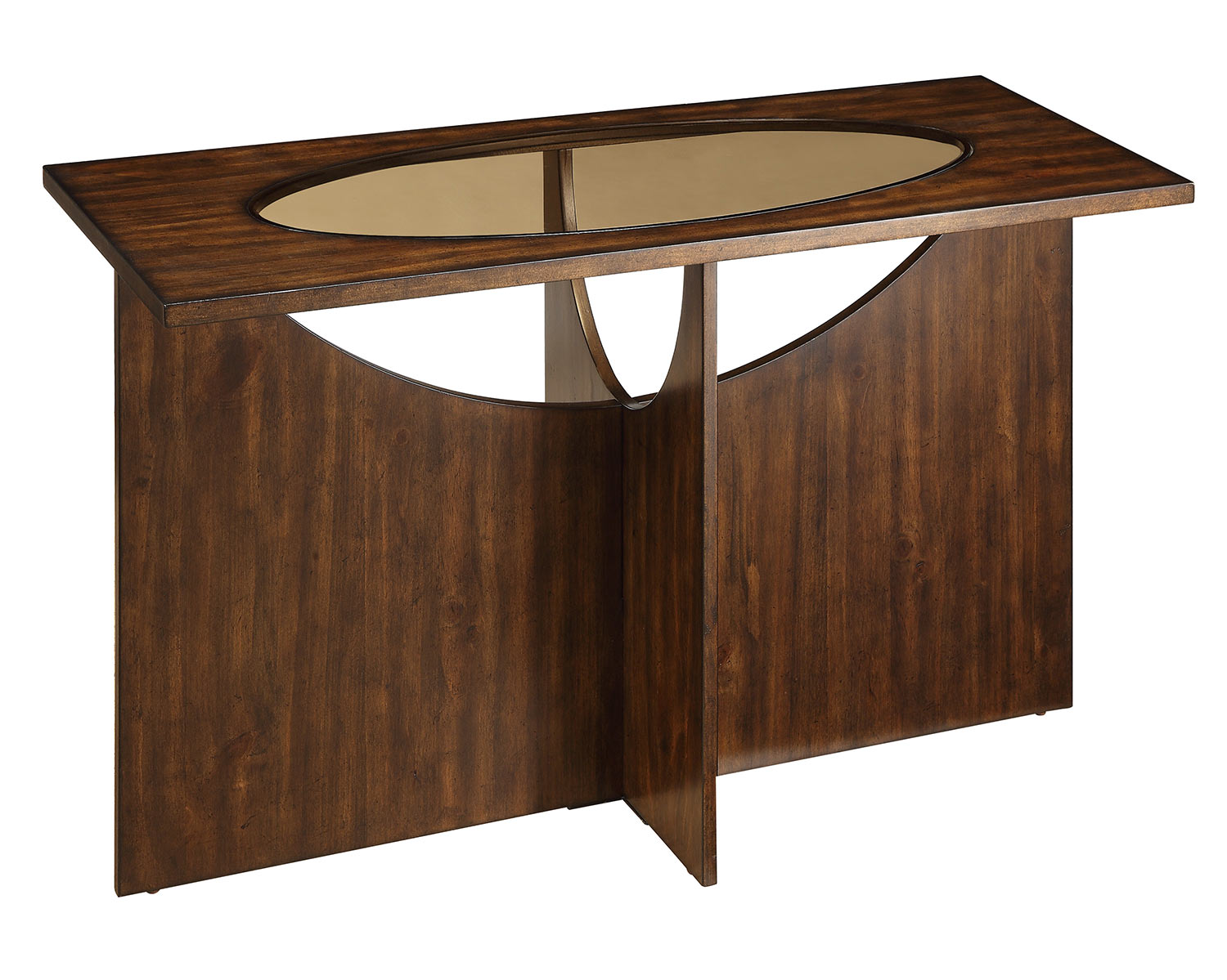 Homelegance Akita Sofa Table - Cherry