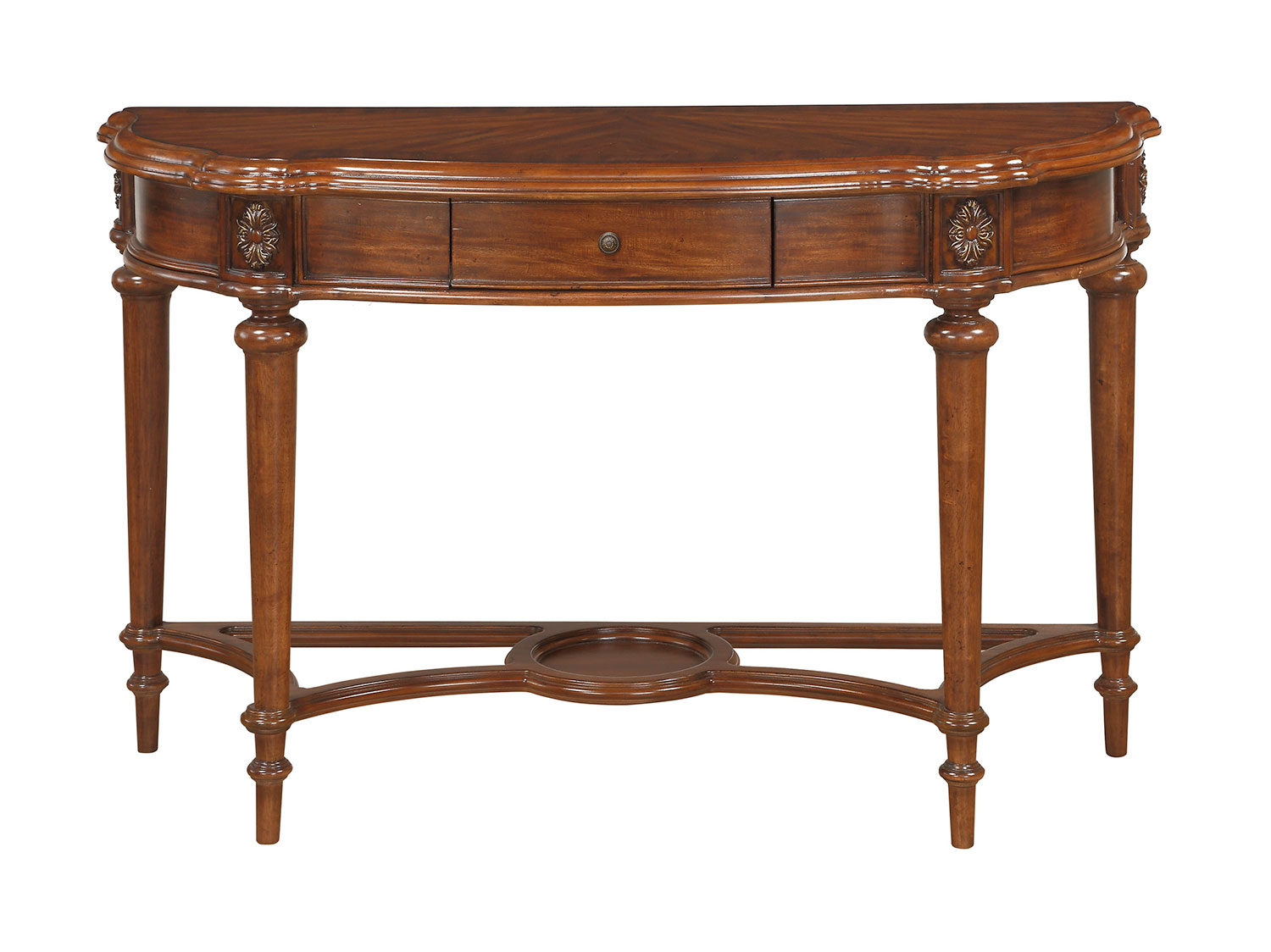 Homelegance Barbary Sofa Table with Functional Drawer - Cherry