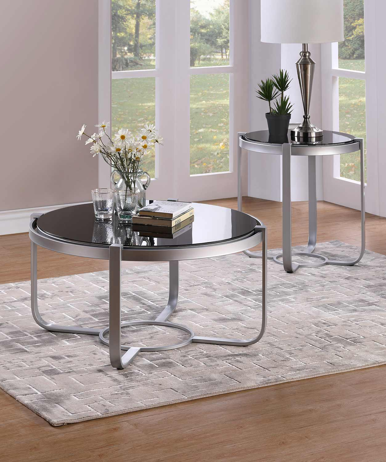 Homelegance Caracal Collection - Silver