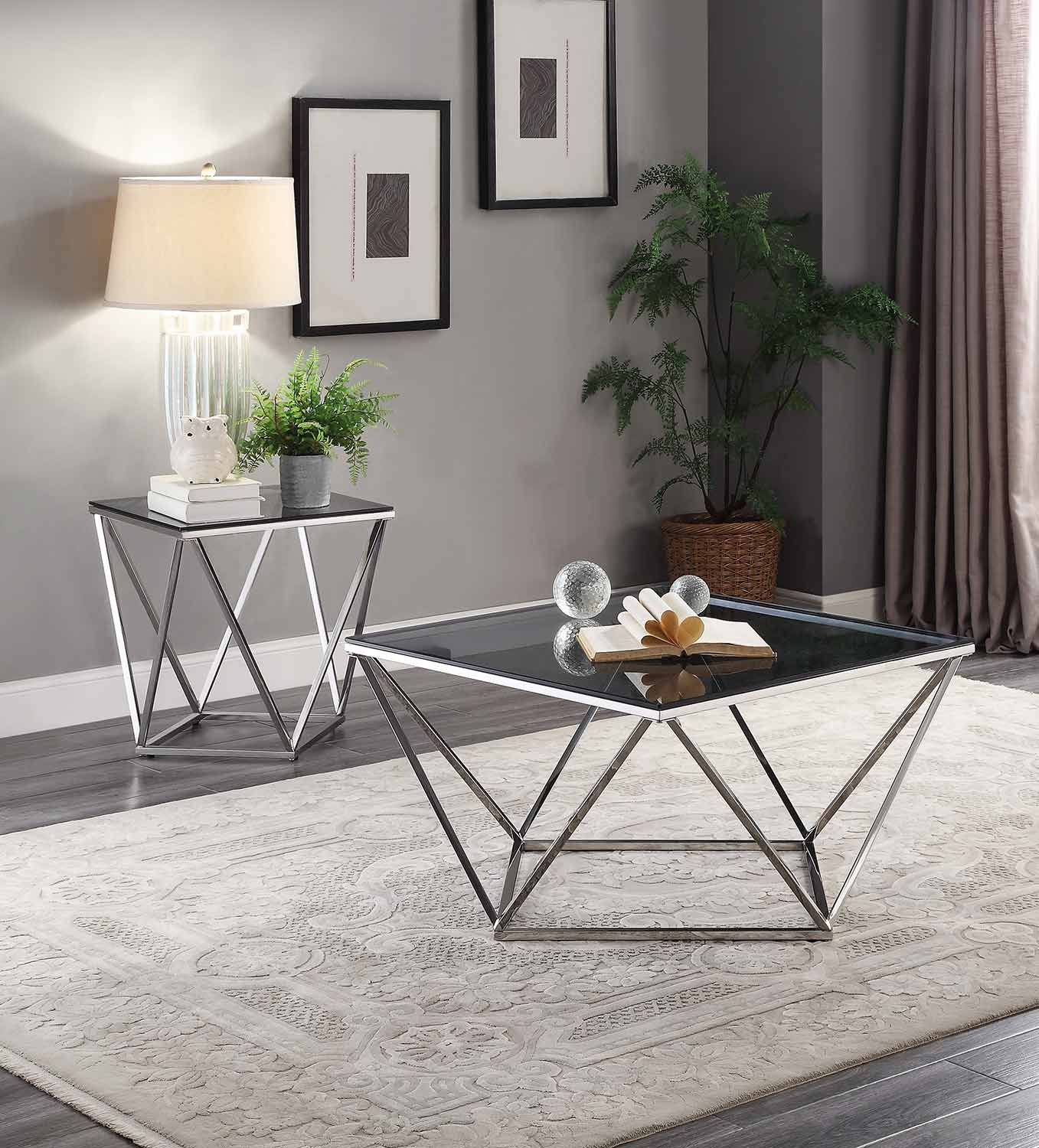 Homelegance Rex Collection - Silver