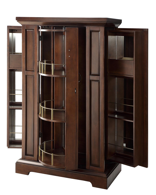Homelegance Snifter Wine Cabinet - Cherry