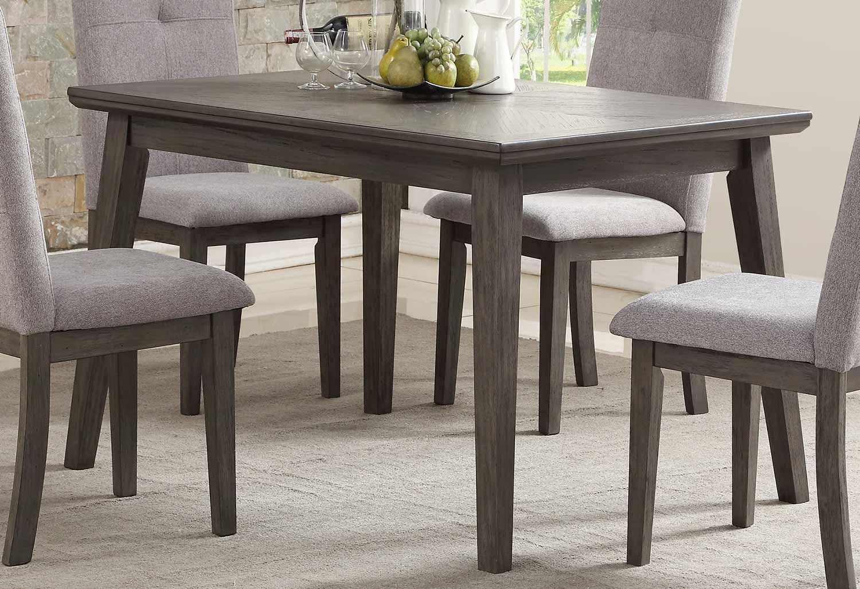 Homelegance University Dining Table - Gray