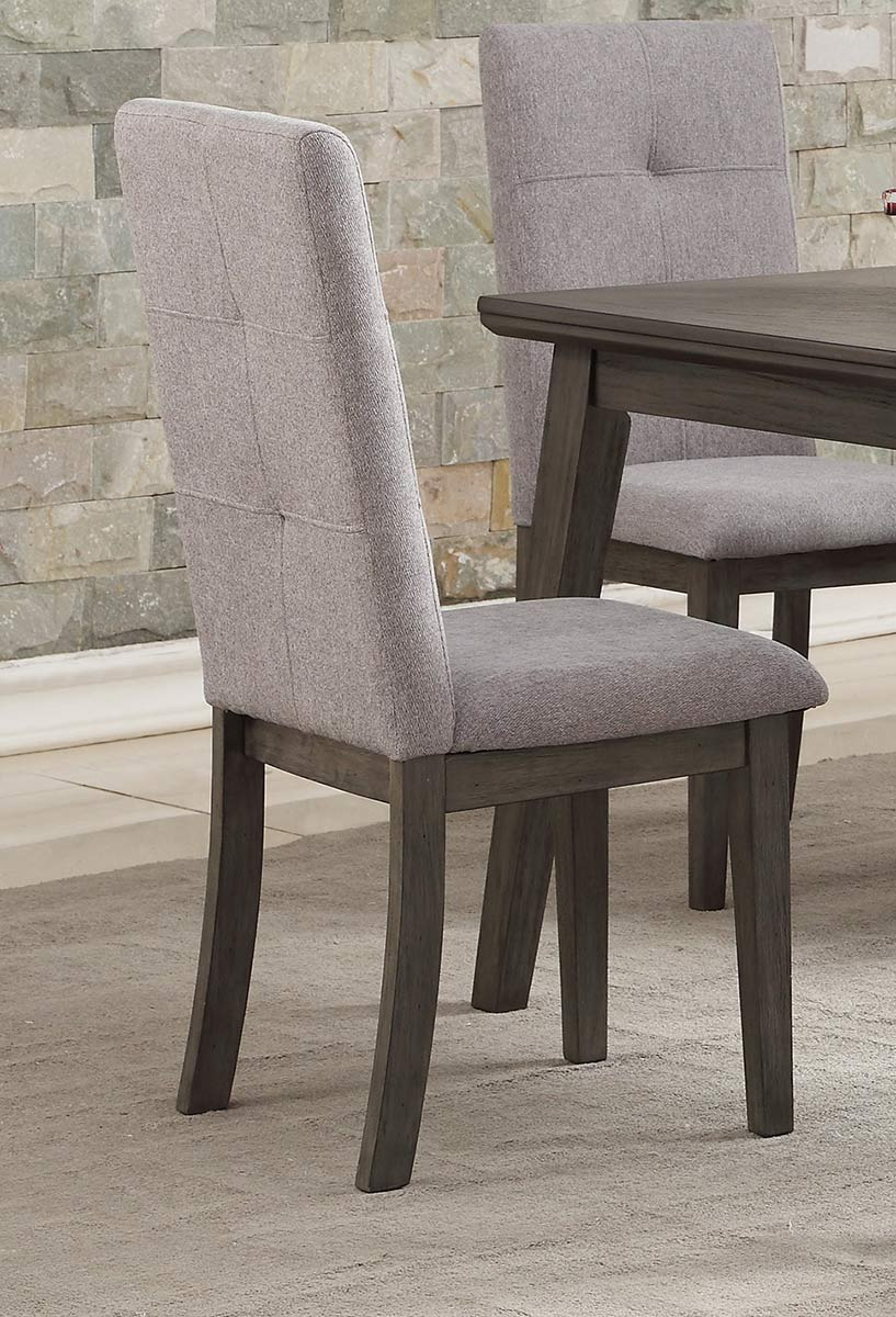 Homelegance University Side Chair - Gray