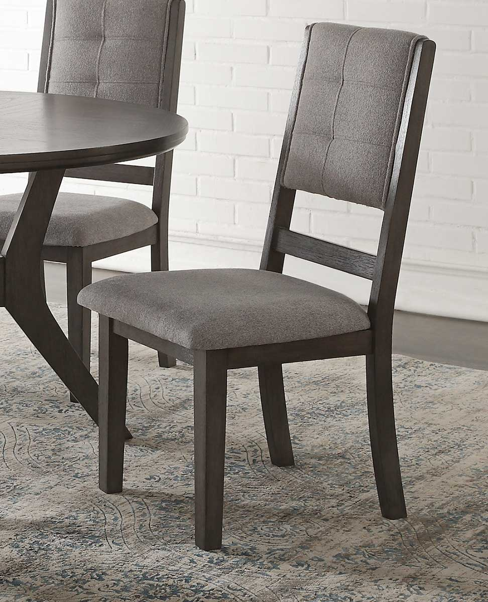 Homelegance Nisky Side Chair - Gray