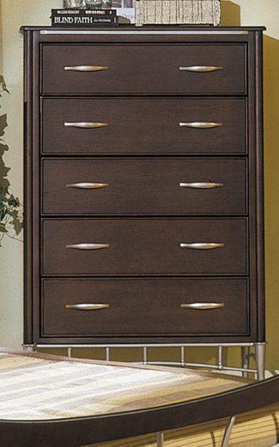Homelegance Moda 5 Drawer Chest