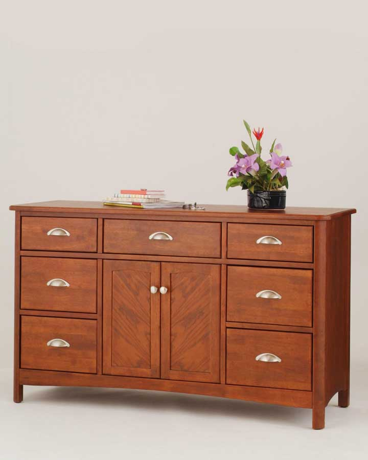Home Styles Crosstimbers Double Dresser