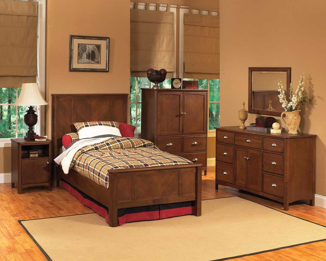 Home Styles Crosstimbers Bedroom Collection