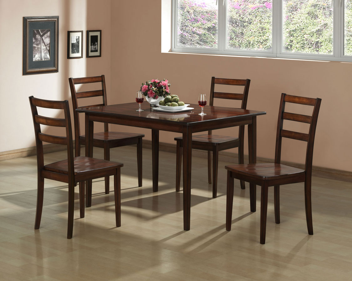 Homelegance Ramsey 5-Piece Pack Dinette