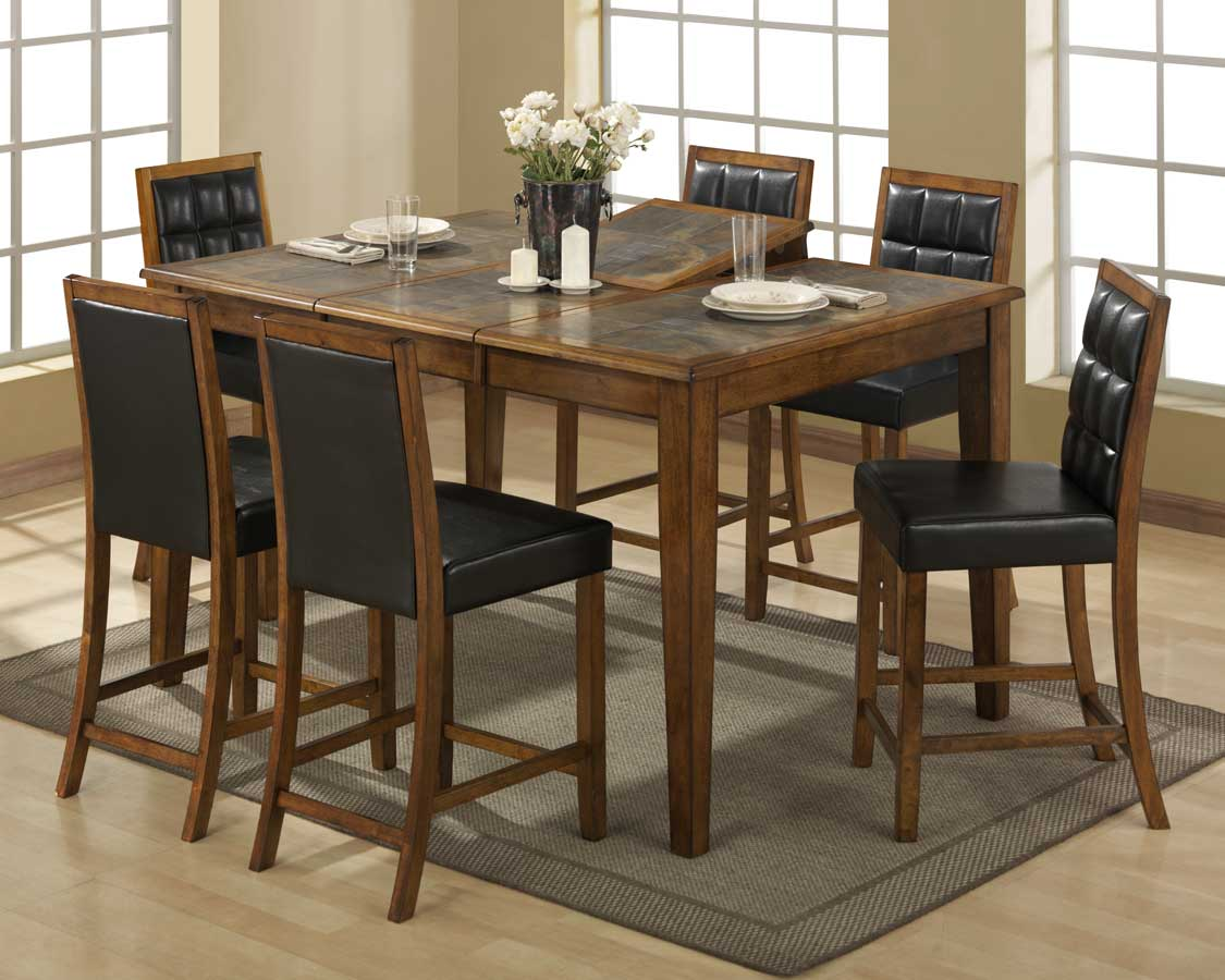 Homelegance Jensenville Counter Height Dining Collection with Parson Chair